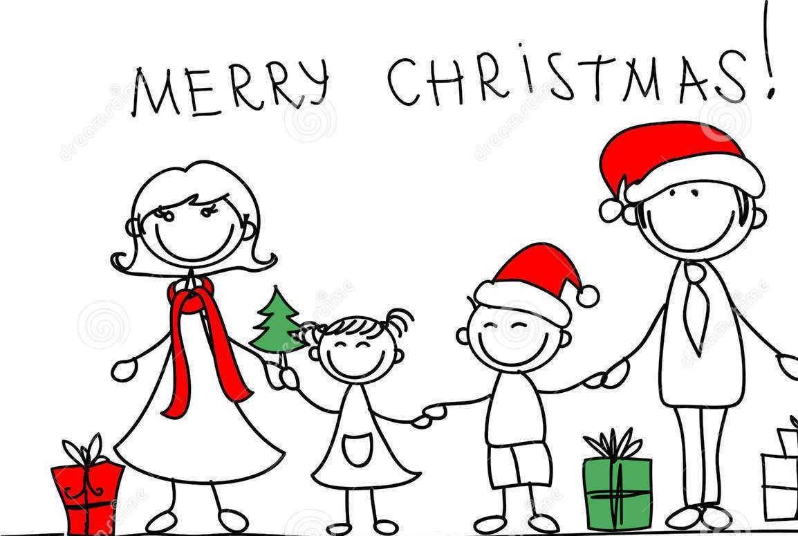 Imagenes De Navidad Y Ano Nuevo Navidad En Familia Dibujo De Navidad Fotos Familiares De Navidad Dibujo De Munecos