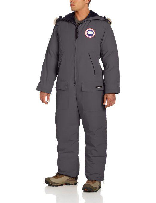 8bf3b014fa9 Amazon.com: Canada Goose Arctic Rigger Coverall, Graphite, Medium: Clothing  Insulated