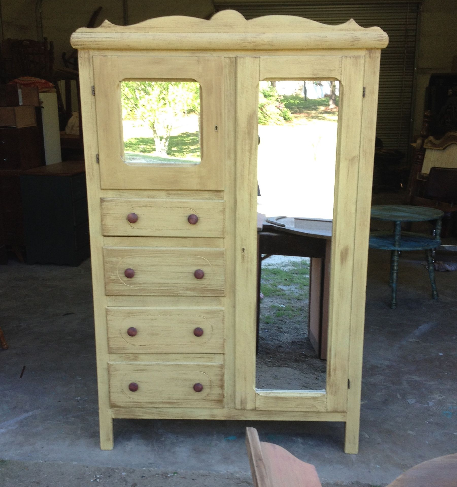 HONEY DO THIS - Gallery Antique armoire restored | Antique ...