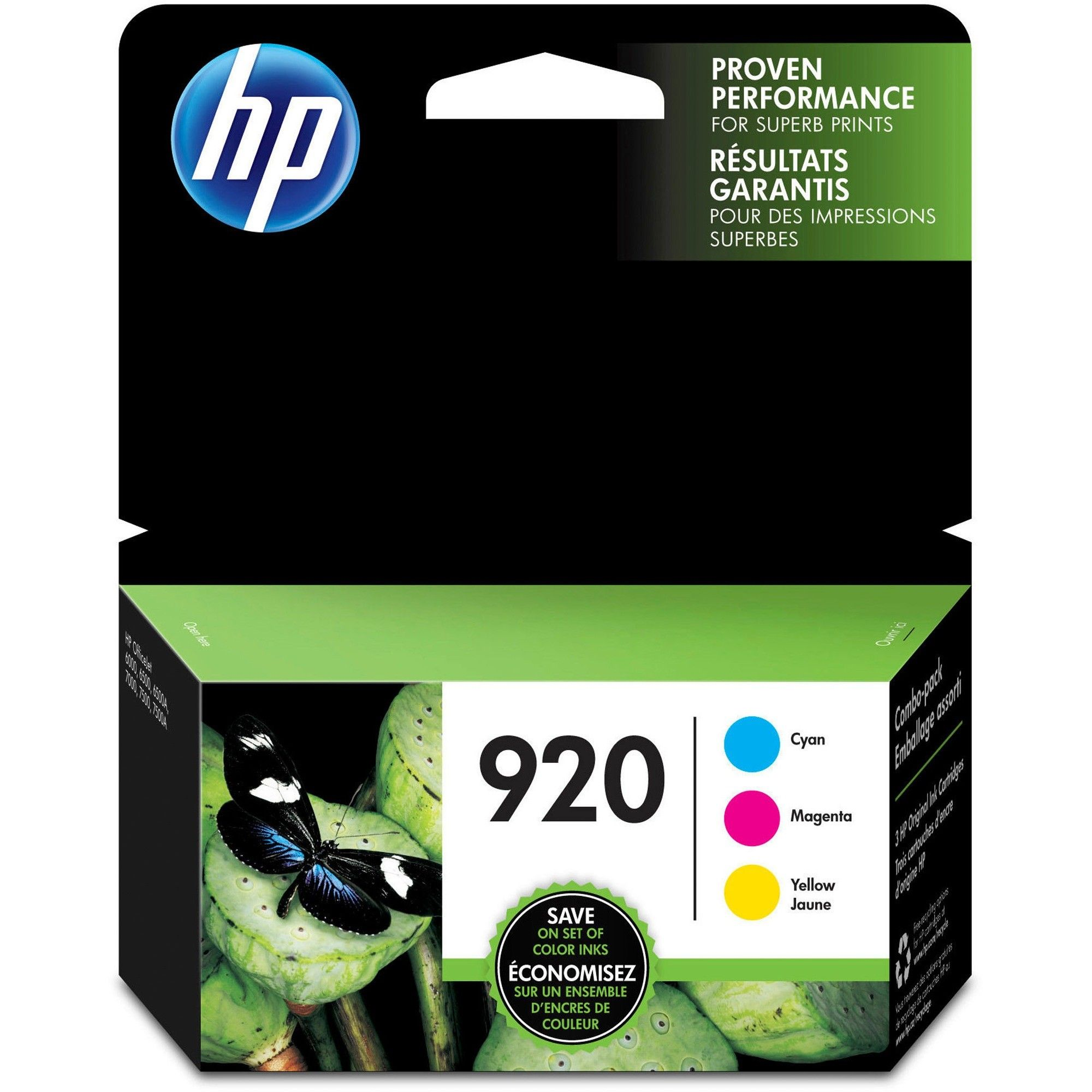Hp 920 Original Ink Cartridge Inkjet 300 Pages Cyan 300 Pages