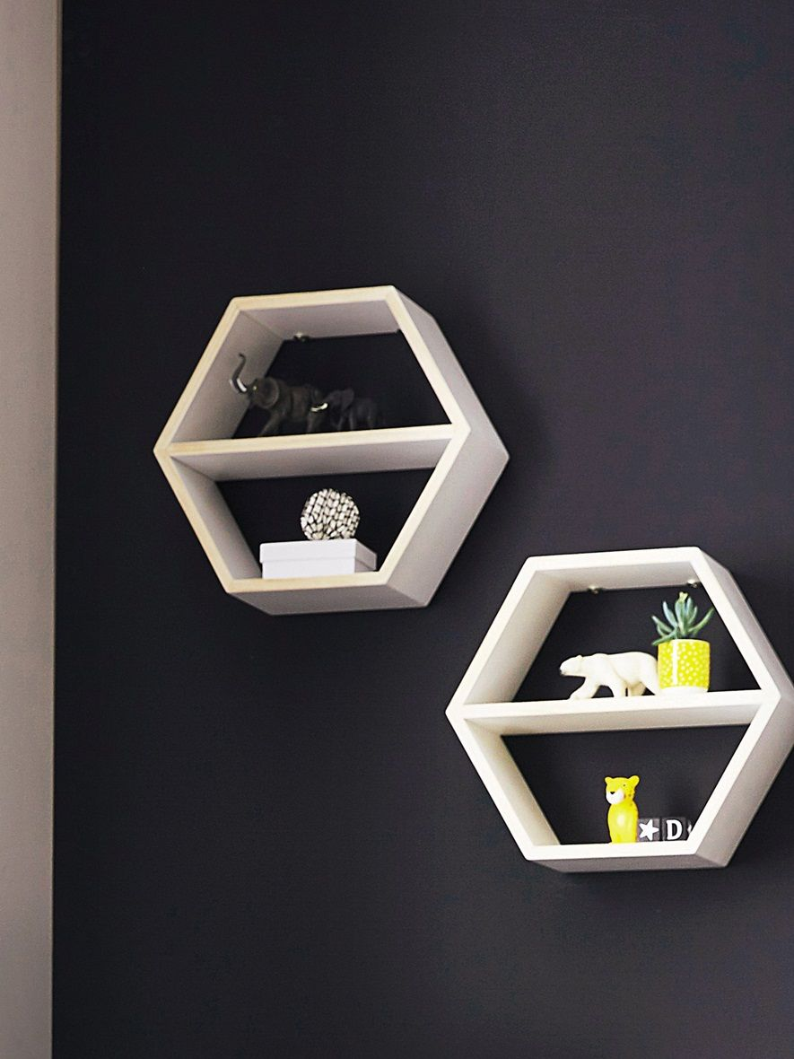 tag re hexagonale en bois maison vetement et d co cyrillus bricolage. Black Bedroom Furniture Sets. Home Design Ideas