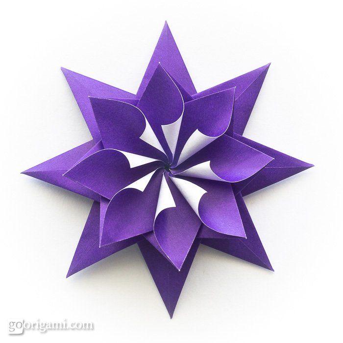Flamenko star folding directions craft ideas pinterest flamenko star folding directions origami flowerorigami mightylinksfo Images