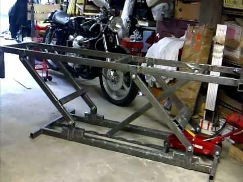 Fabriquer une table l vatrice l ve quad l ve moto for Table elevatrice moto