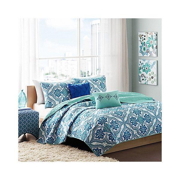 Lacey Coverlet Set In Blue | Joss U0026 Main