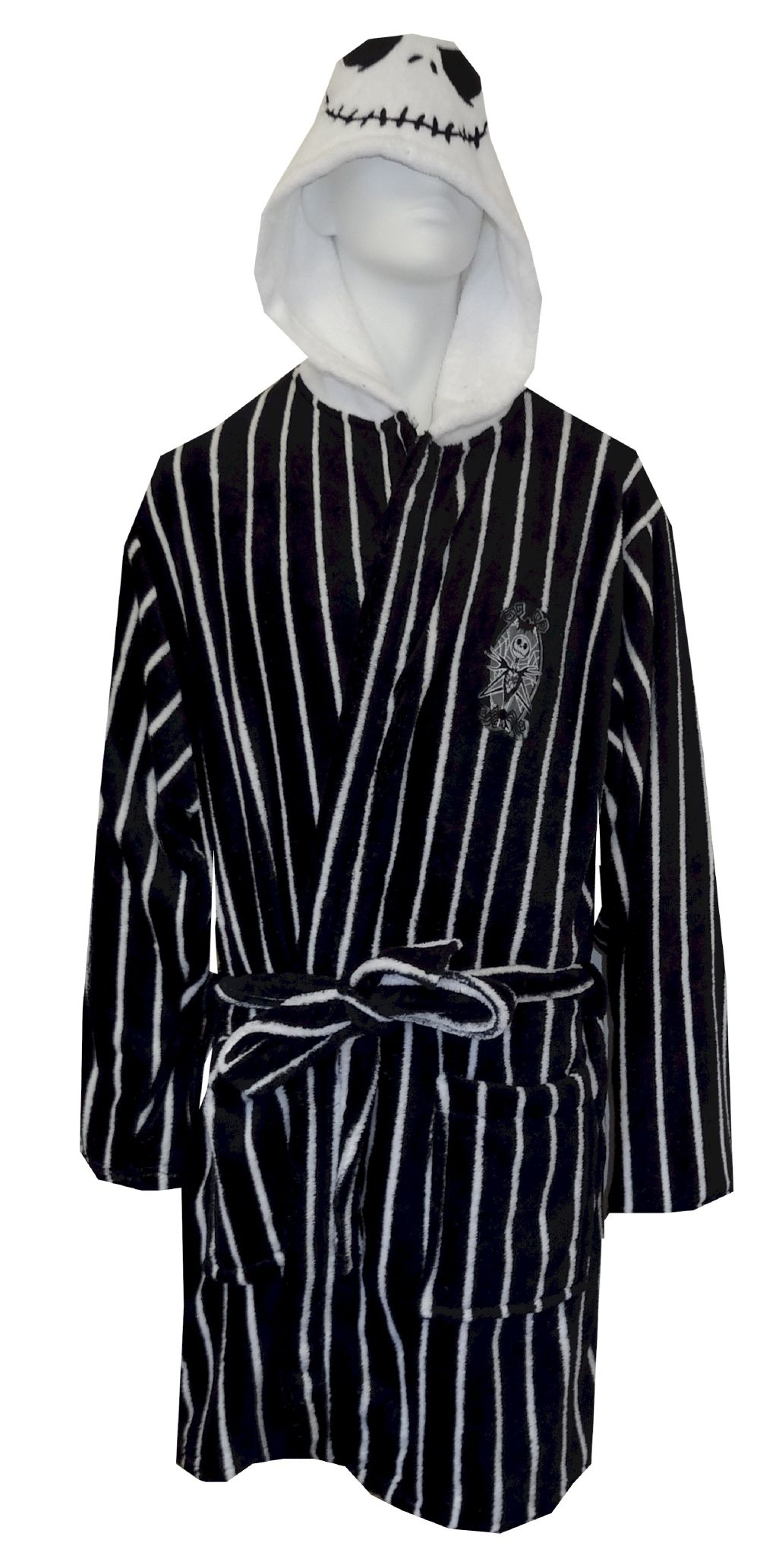 Nightmare Before Christmas Jack Skellington Plush Robe Perfect for ...