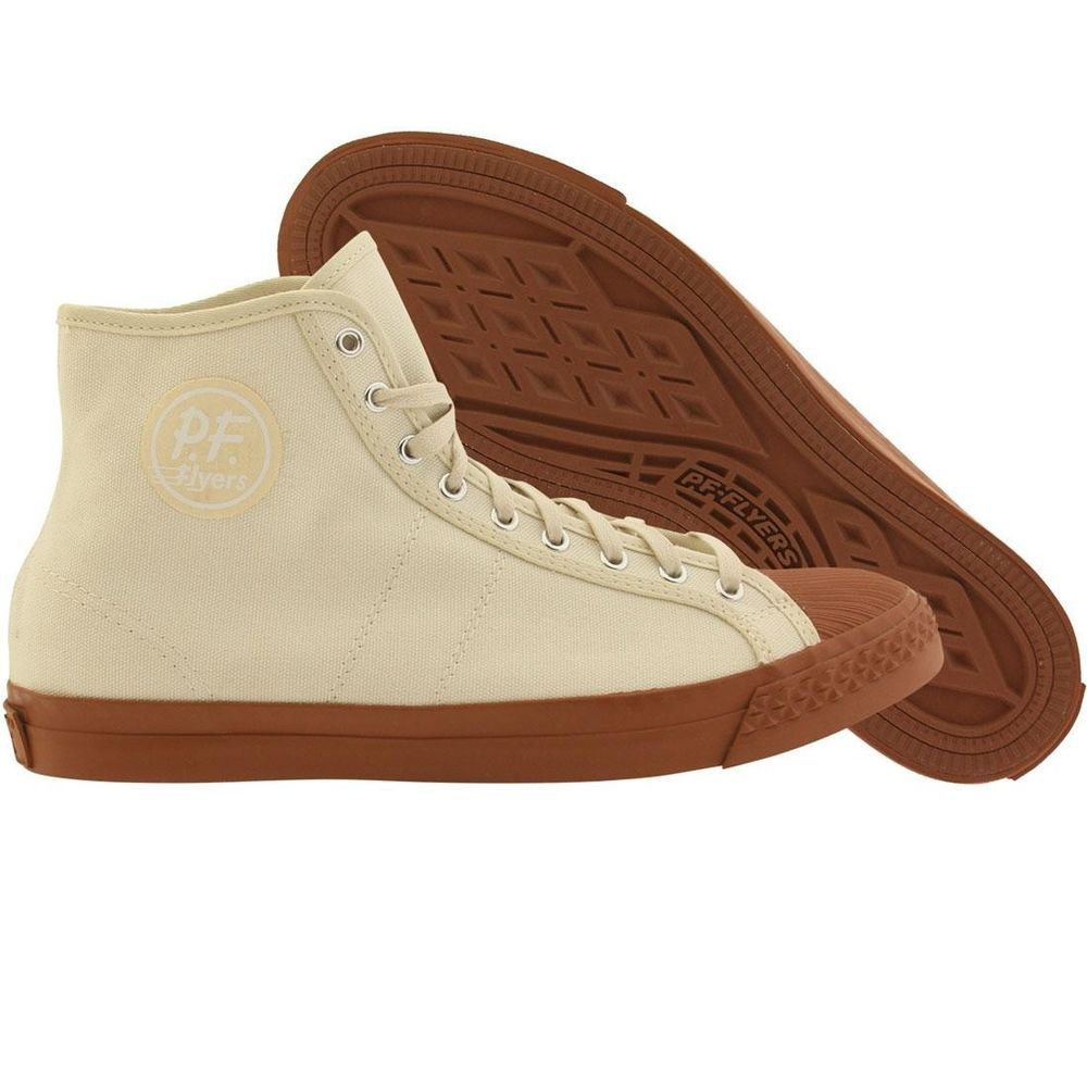 9f15399d5d3262 PF Flyers x Brooklyn Circus Men Rambler (white   gum alabaster) PM15BS3Y   PFFlyers  Shoes