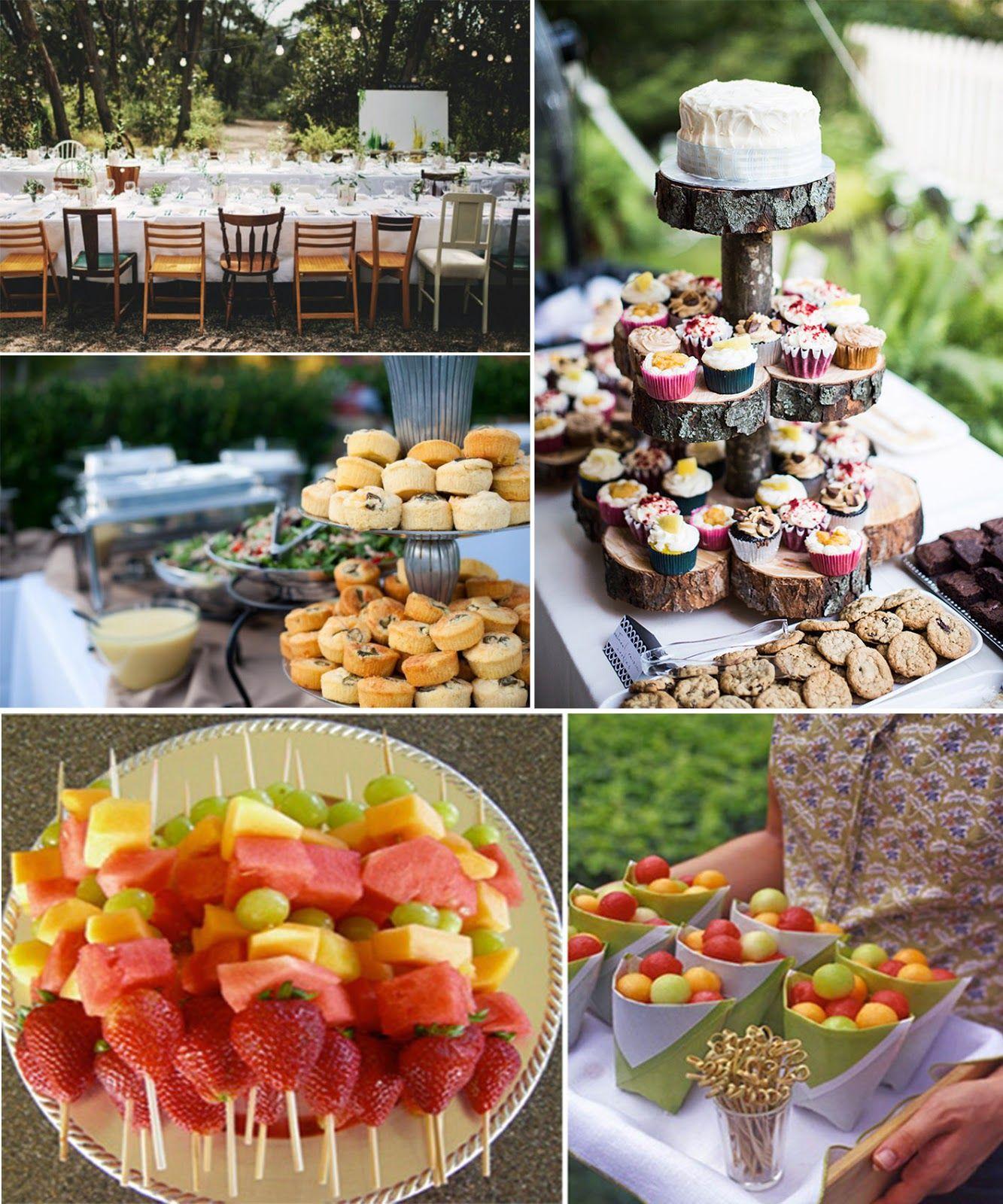 prom dress: How to play a backyard themed wedding | 파티 음식 ...