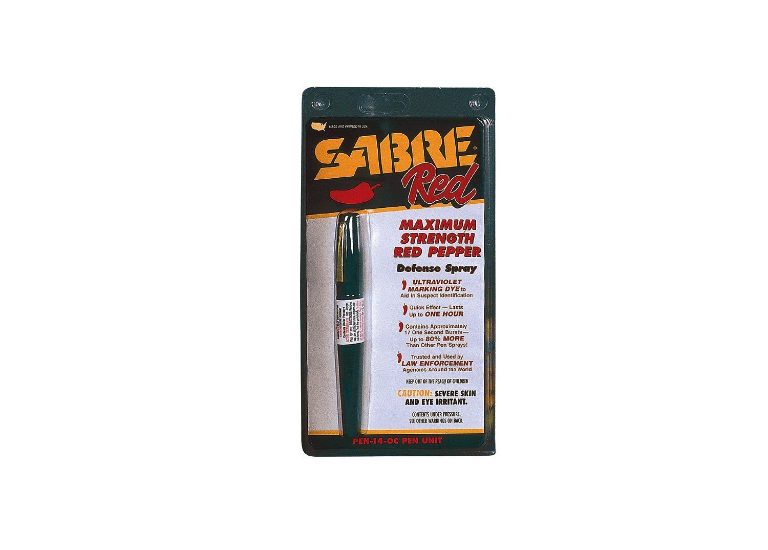 Sabre Super Red Pepper Gas Pen