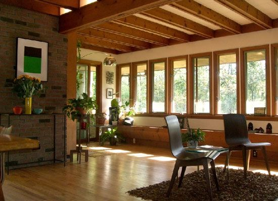 Delicieux On The Market: Frank Lloyd Wright Style Three Bedroom Property In Hunterdon  County