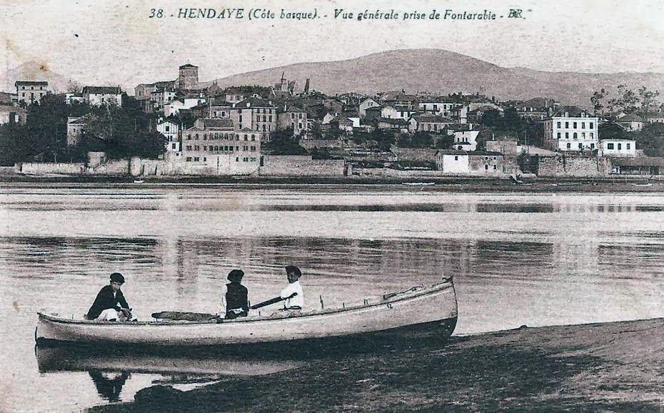 Pays Basque 1900 Hendaye Hendaia en 2019
