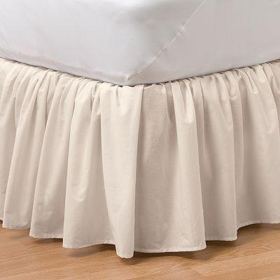 Home Classics 174 Ruffle Bedding Accessories White Bed Skirt Ruffle Bedding Skirts For Sale