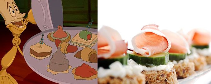 Disney Movie Food > Actual Food Disney, Beauty and the