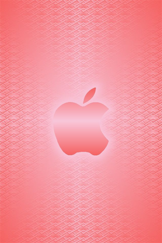 Peach Apple Logo Apple Iphone Wallpaper Hd Apple Wallpaper Apple Wallpaper Iphone