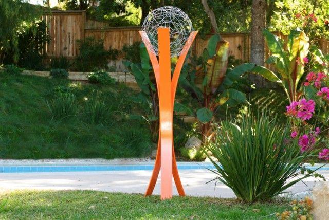 Attraktiv Gartendeko Aus Metall U2013 Wie Sie Skulpturen Effektvoll In Szene Setzen