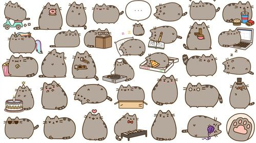 17 Best images about Pusheen on Pinterest   Pizza, Emoticon and ...