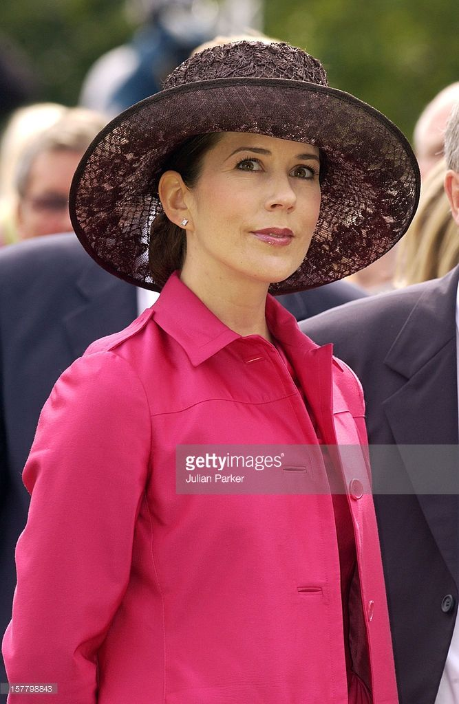 Princess Mary, July 26, 2004 Prada dress and coat
