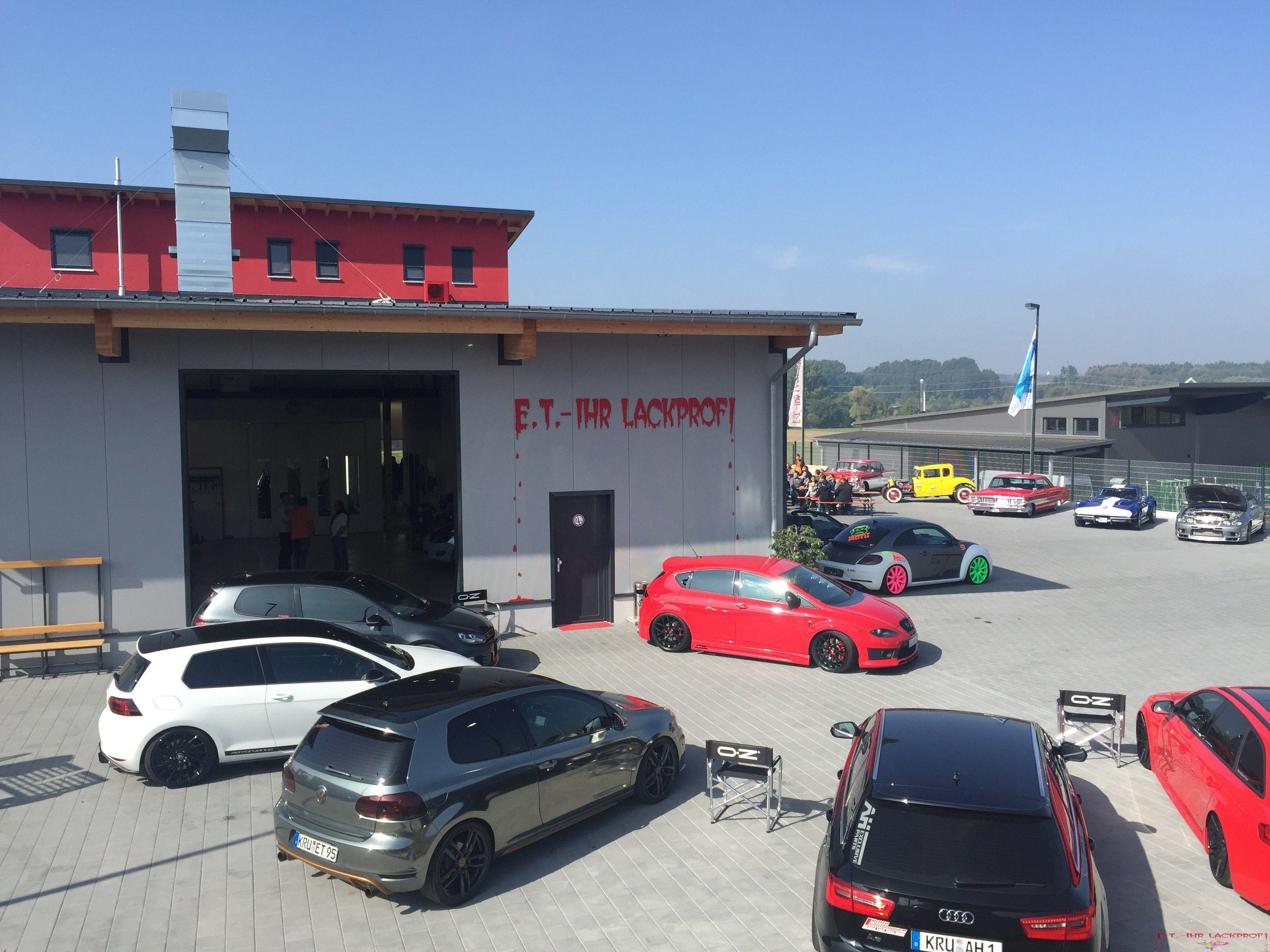 Bildergalerie unser Autolackiererei in Burgau | ET-Lackprofi