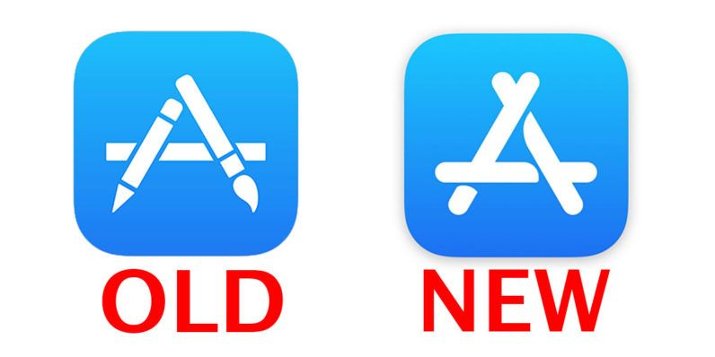 Apple just changed the App Store icon for the first time