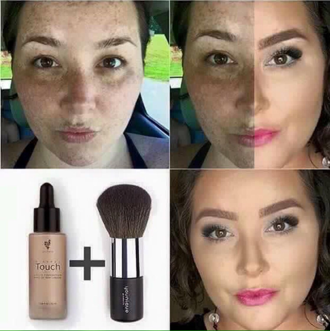 Does your foundation give you this kind of coverage?? Do