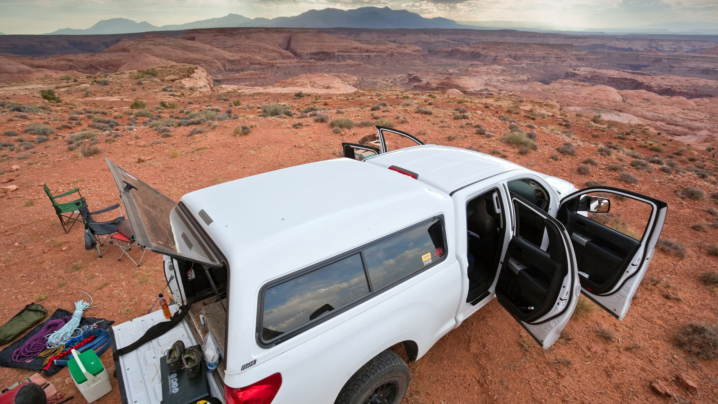 Turn Any Truck into a Mobile Adventure Home Truck bed