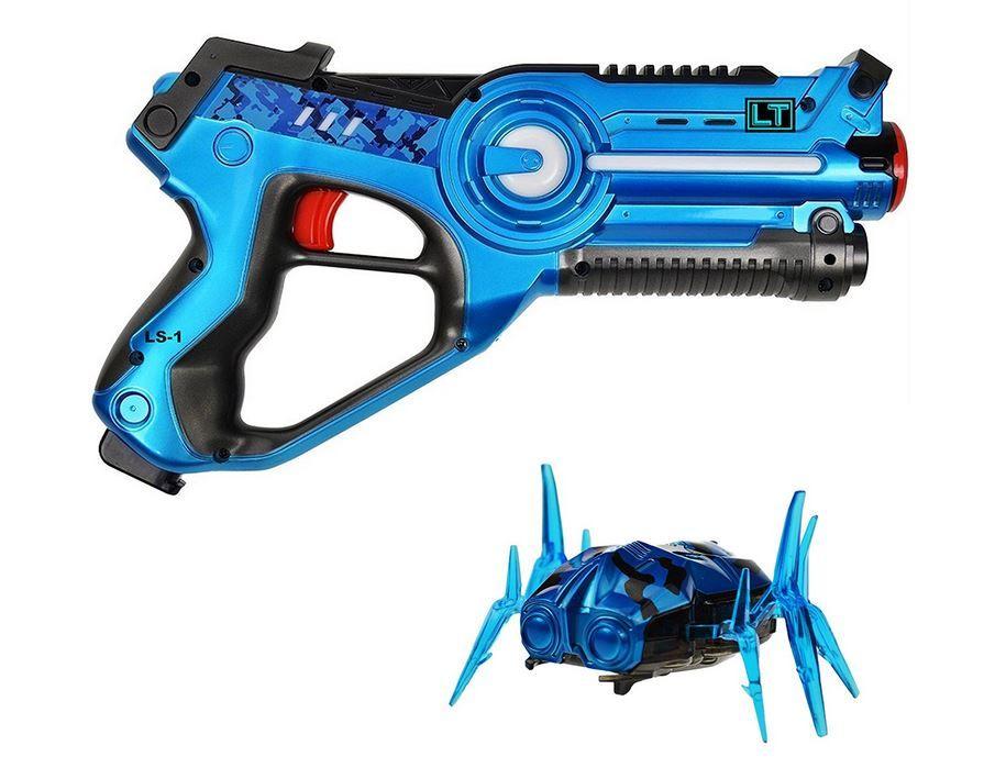 Legacy Toys Laser Tag Blaster And Nano Bug Target Set Laser Tag Toys Bug Toys
