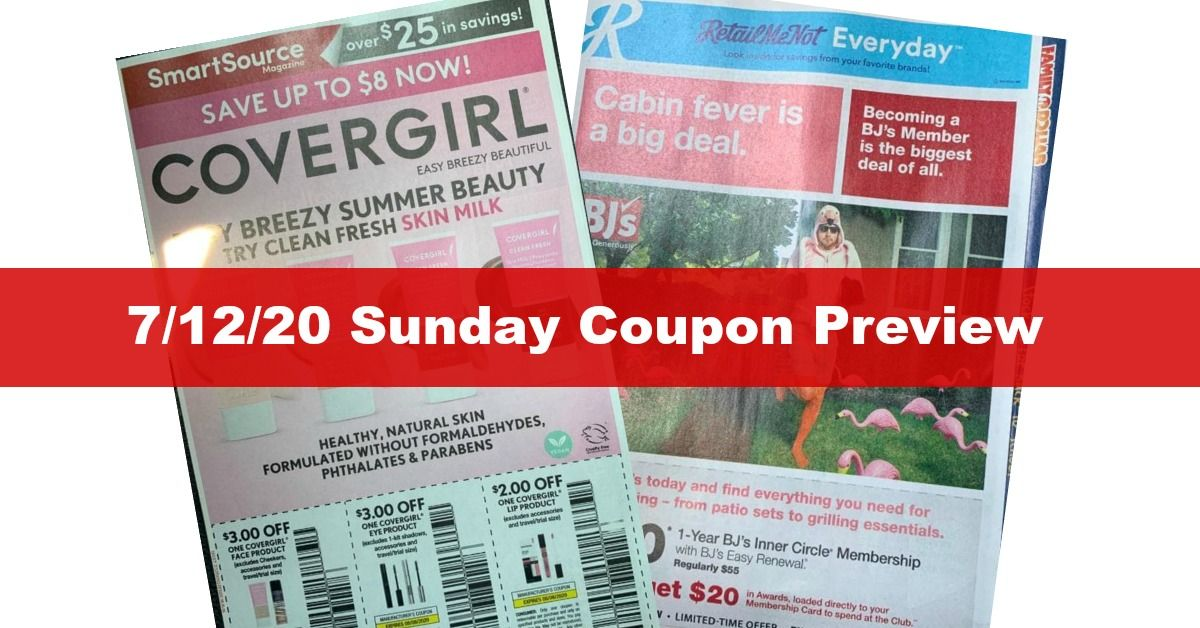 Sunday Coupon Preview 1 3 21 4 Inserts Expected Sunday Coupons Coupon Inserts Coupons
