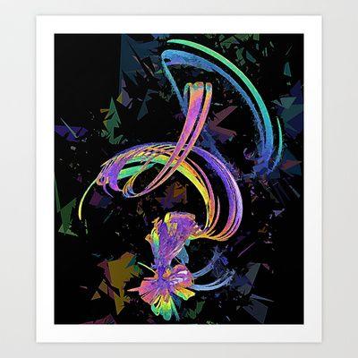 Art of Noise Art Print by Brian Raggatt    - $17.68