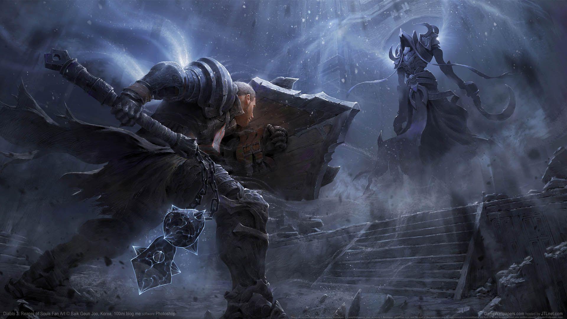 Diablo 3 Reaper Of Souls Fan Art Wallpaper 01 1920x1080 Fantasy Art Diablo 3 Diablo
