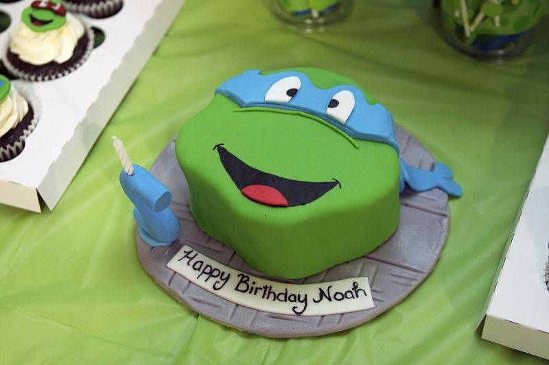 Birthday Parties for Teenagers Ninja turtle party Turtle party