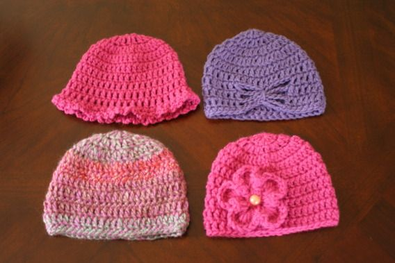 Halfknits Charity Knitting And Crochet Group Hat Patterns Easy