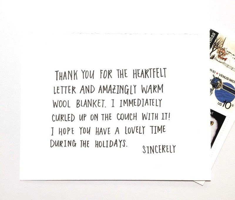 What To Write In Your Holiday Thank You Cards Christmas Card Messages Lettering Christmas Cards