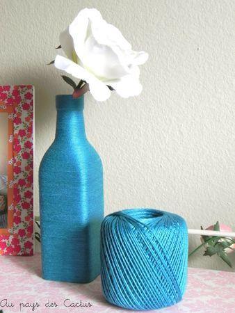 customiser une bouteille en verre au pays des cactus bo tes petits pots rigolos. Black Bedroom Furniture Sets. Home Design Ideas
