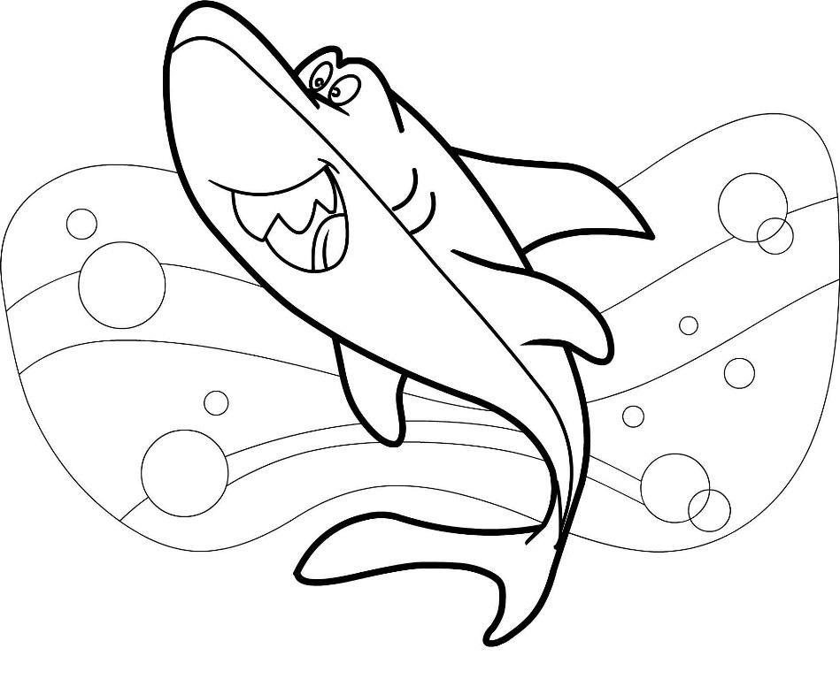 Free Printable Shark Coloring Pages New Coloring Pages Collections