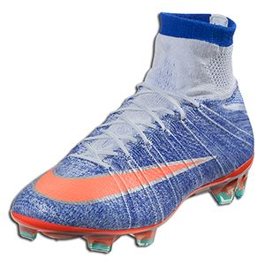 reputable site 1a881 1f2c6 Nike Women's Mercurial Superfly FG - Blue Tint/Bright Mango ...