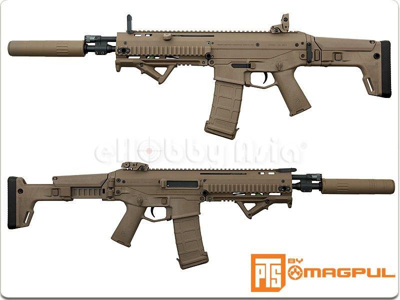 magpul pts masada acr assault rifle dark earth airsoft