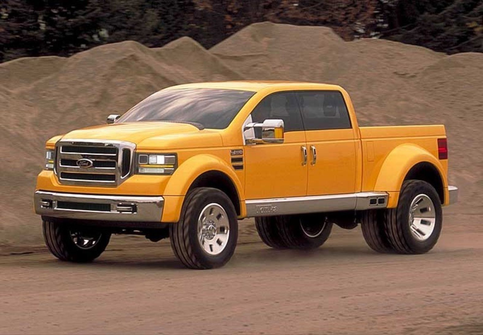 Wow! Check this out! 2014 Ford F-150 Tonka Edition hits the road ...