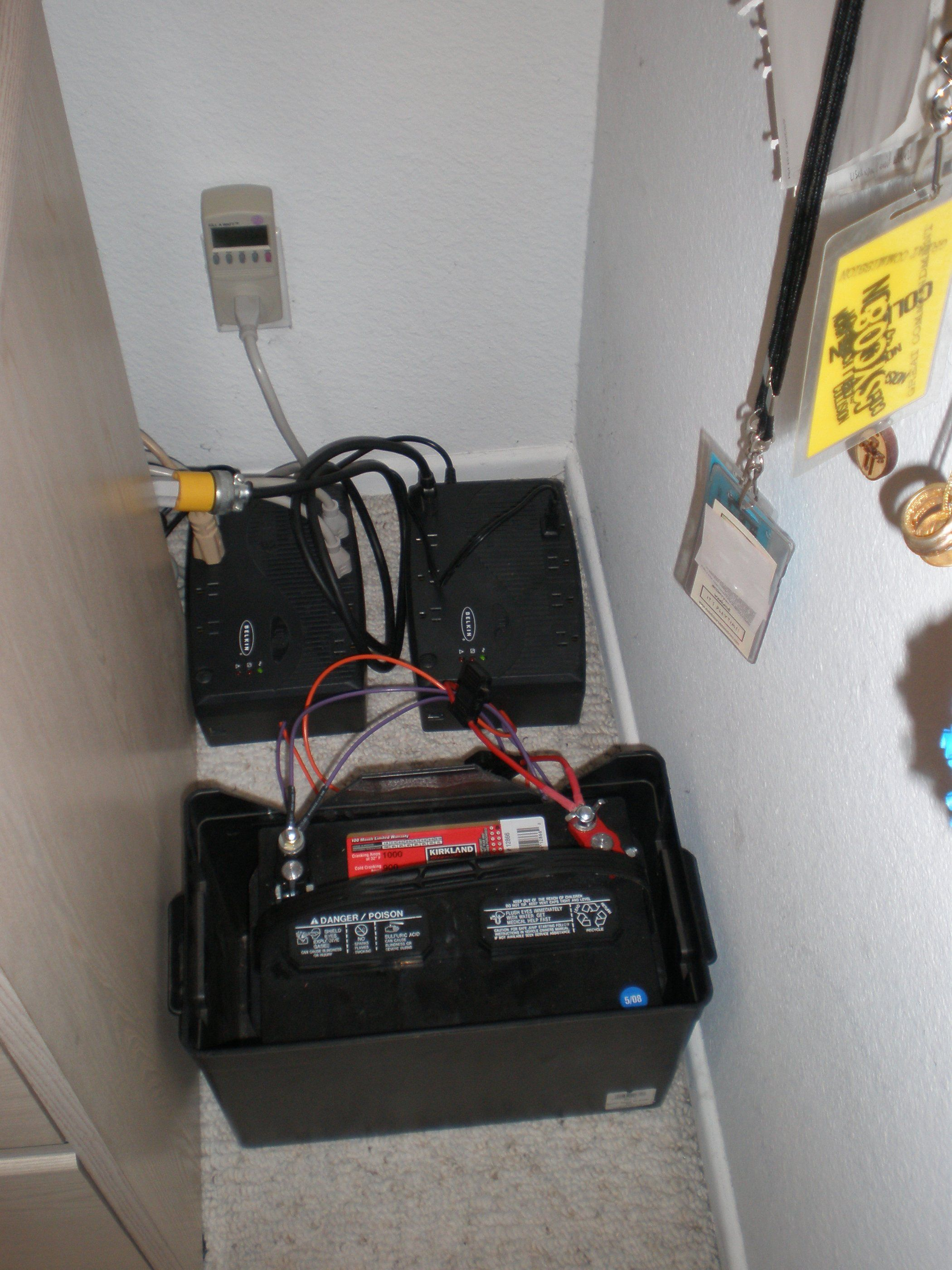 Make Your Computer Ups Last For Hours Instead Of Minutes Computer Ups Battery Backup Ups Battery