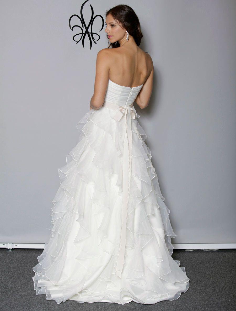 bd19b9ed8cb Anne Barge Lyric Wedding Dress Blue Willow Bride on Sale - Your Dream Dress