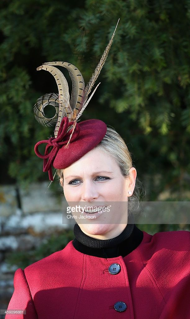 Zara Phillips leaves the Christmas Day service at Sandringham on December 25, 2013 in King's Lynn, England. (Photo by Chris Jackson/Getty Images)
