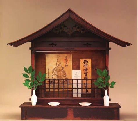 Kamidana Household Shrine Taisho Period 1912 1926