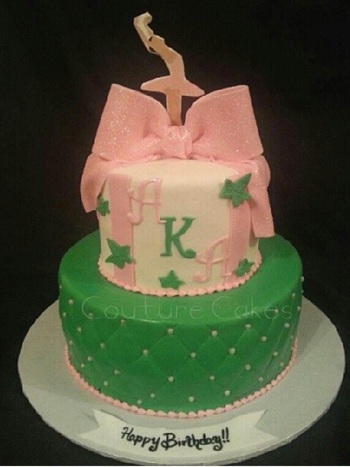 Aka Cake Dear Alpha Kappa Alpha Aka Sorority