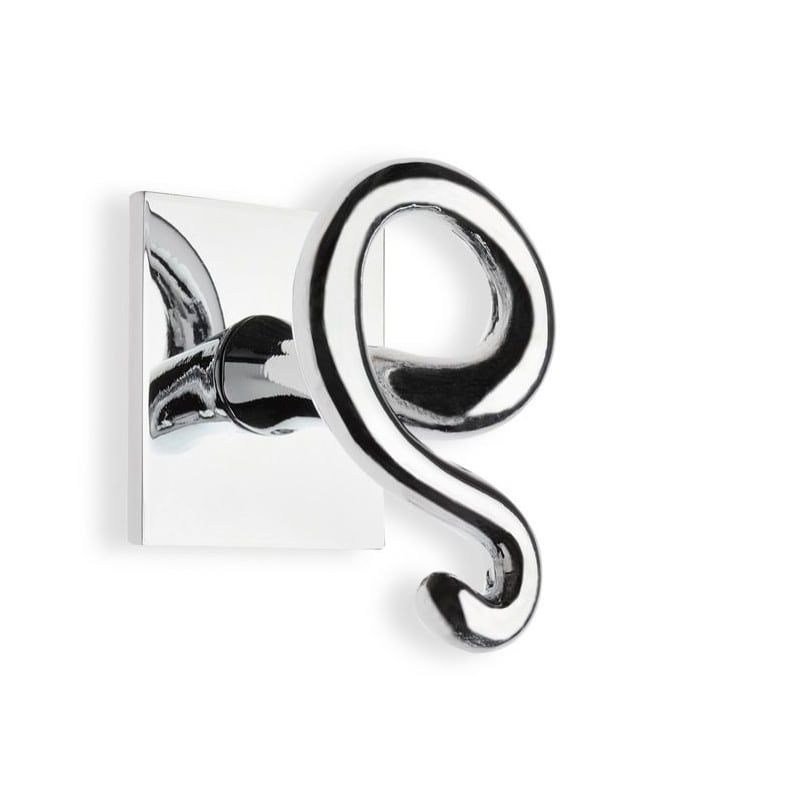 Nameeks StilHaus U808-08 Chrome Urania Single Robe Hook