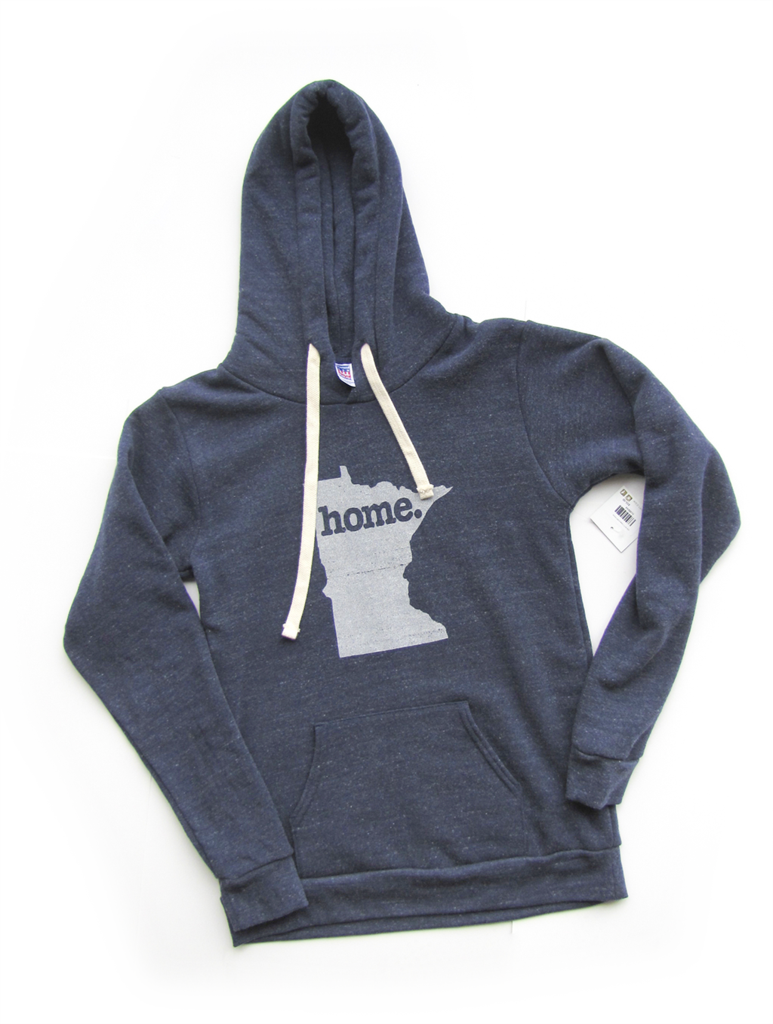 Tri Blend Pull Over Hoodie Minnesota Home Sweatshirt kuDuSu0Z