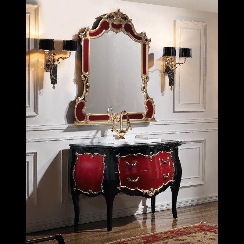 Mueble de #baño #neoclasico modelo Palacio de #Taberner