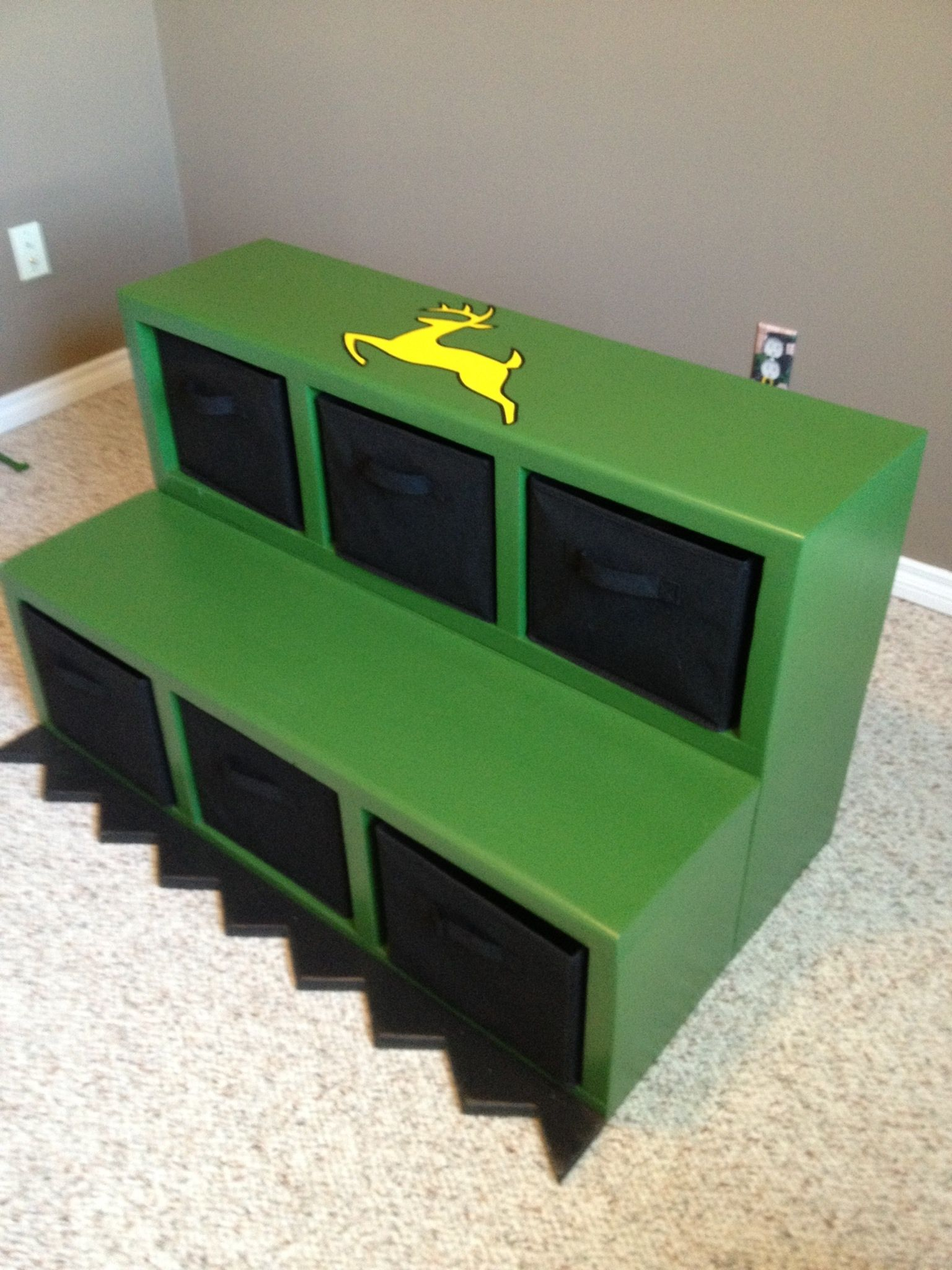 front end loader  for John Deere Tractor bunk beds. John Deere Themed Bedrooms       logging logger Barn  Decor Boys