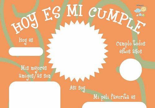 Lámina de cumpleaños para niños. Imprimible gratis | Birthday ...