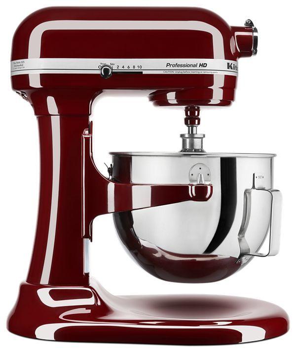 Kitchenaid Professional Hd Series 5 Quart Bowl Lift Stand Mixer In Crimson Red In 2020 Kitchen Aid Mixer Kitchen Aid Kitchenaid Professional