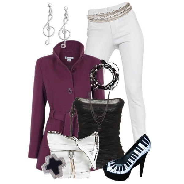 Piano Riff, created by hollyhalverson on Polyvore