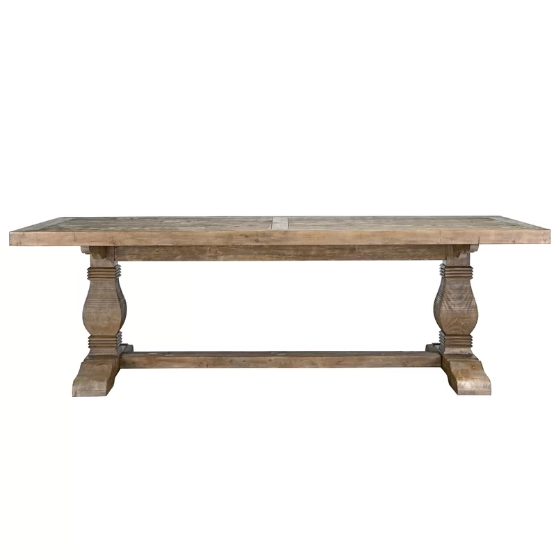 Gertrude Solid Wood Dining Table Reviews Birch Lane