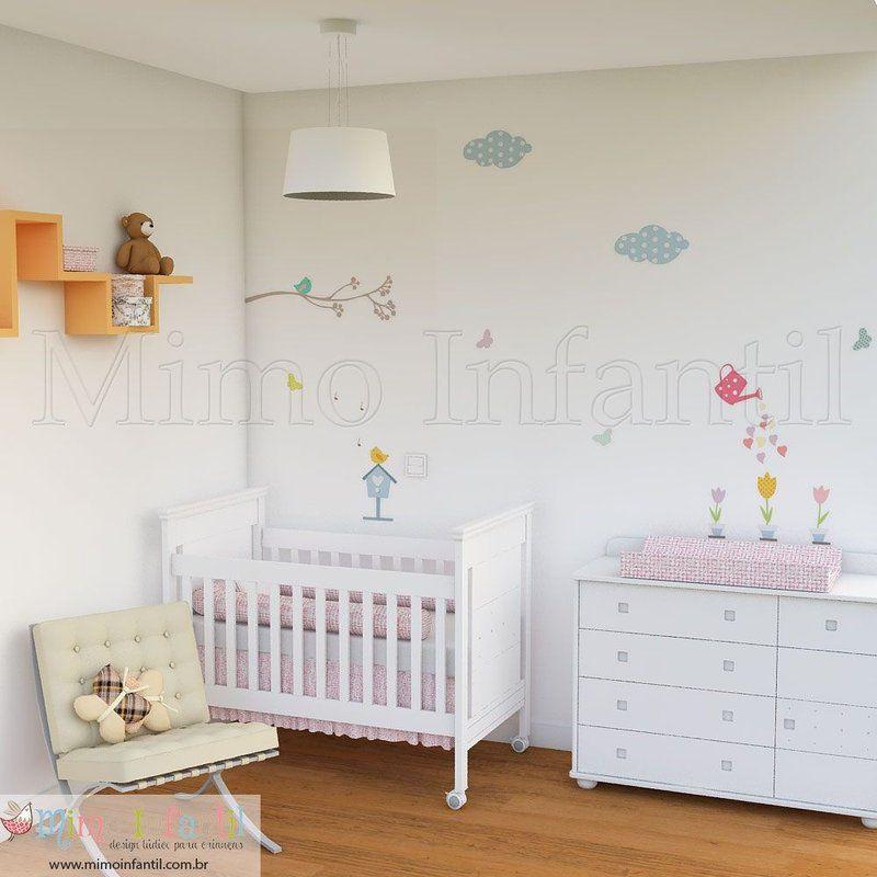 Adesivo de parede para decoração de quarto de bebê e  ~ Adesivo De Parede Para Quarto De Bebe Aliexpress
